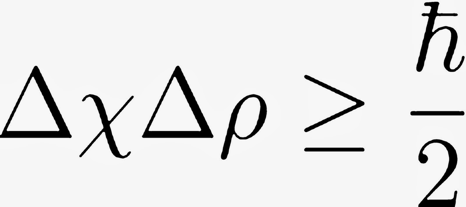 El Principio de incertidumbre, de Heisenberg