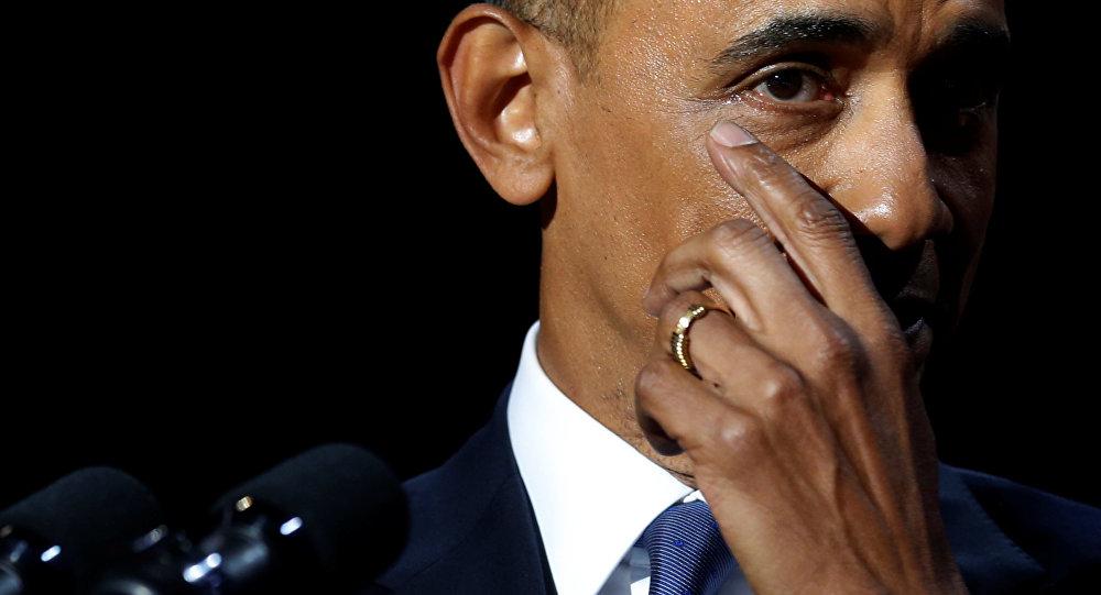 Sencillamente él. Obama